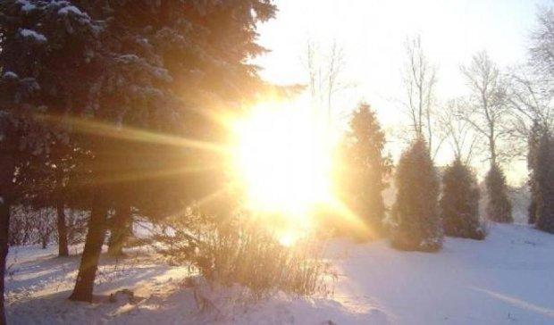 Погода в грудні буде аномально теплою