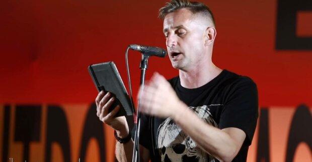 Сергій Жадан, фото: скріншот з відео