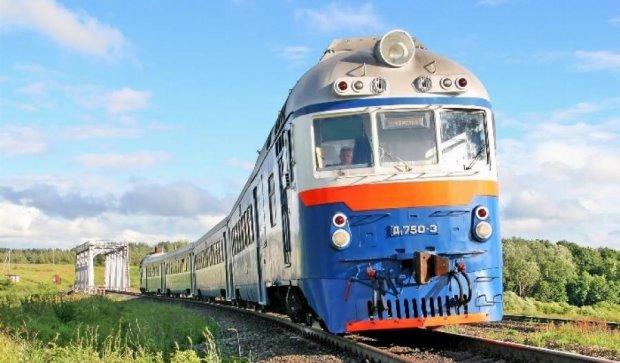 В Киеве самоубийца бросился под поезд