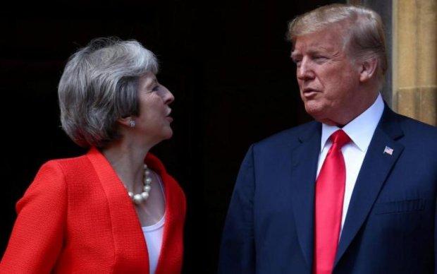 """Трамп розповів Мей, як """"порішати"""" Brexit"""