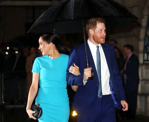 Меган Маркл и принц Гарри фото:vanityfair