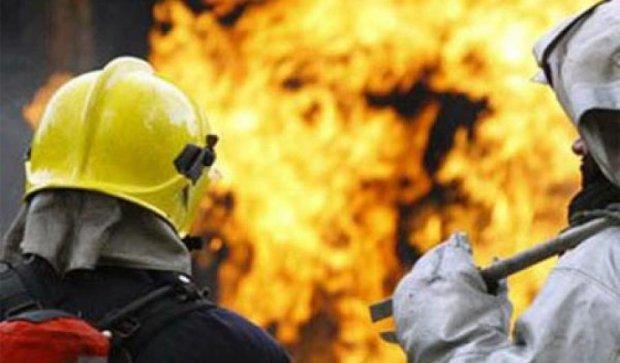В Киеве ночью горели сразу три автомобиля (видео)