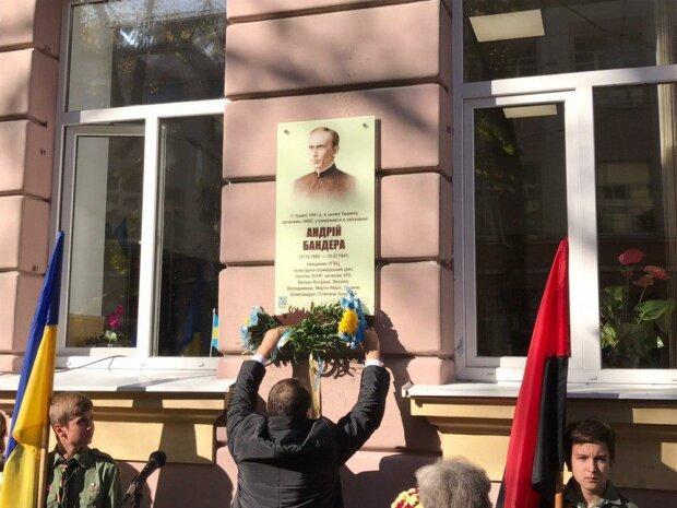Бандера в рясі: у Франківську увічнили пам'ять батька легендарного ватажка УПА