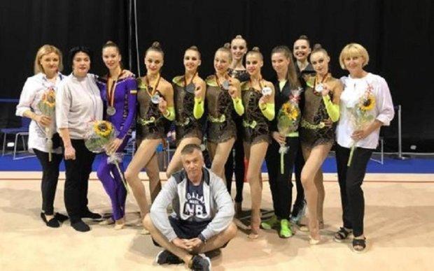 Збірна України завоювала срібло на Кубку світу з художньої гімнастики