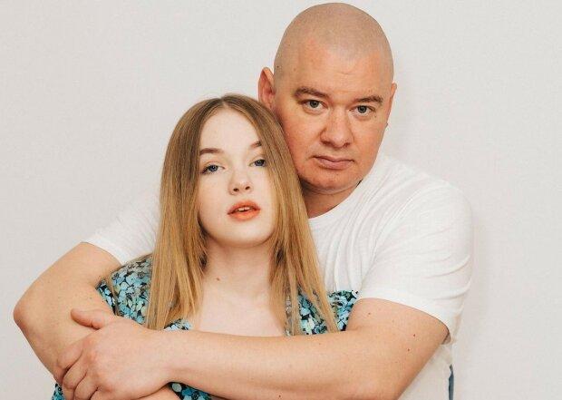 Євген Кошовий з донькою, фото: Instagram