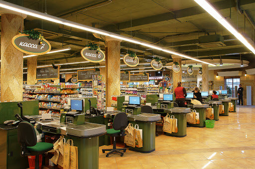 Супермаркет Santim, фото из соцсетей