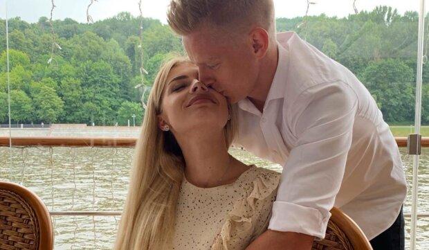 """Зінченко зробив пропозицію коханій Владі Седан: """"Найголовніше """"так"""" у моєму житті"""""""