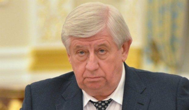 Шокин просит лишить Царевич и Вовка должностей судей