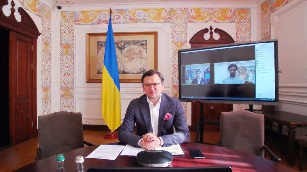 Дмитро Кулеба, скріншот з відео