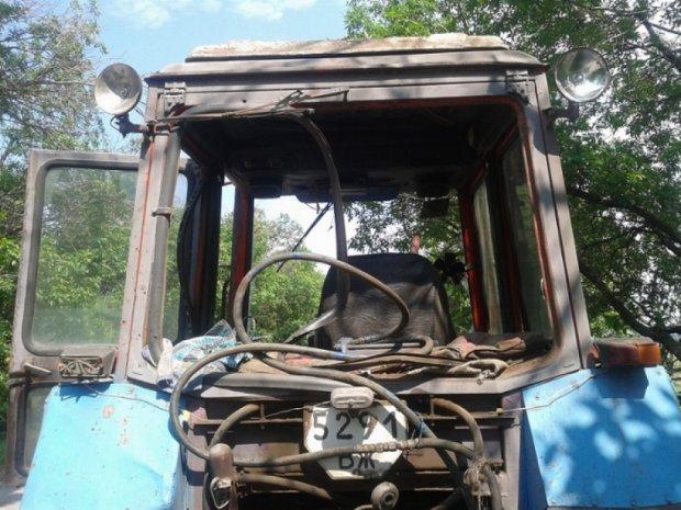 На Луганщині підірвався трактор під час польових робіт