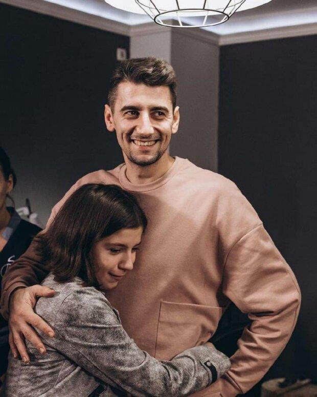 Олександр Еллерт і донька Еля, фото: Instagram
