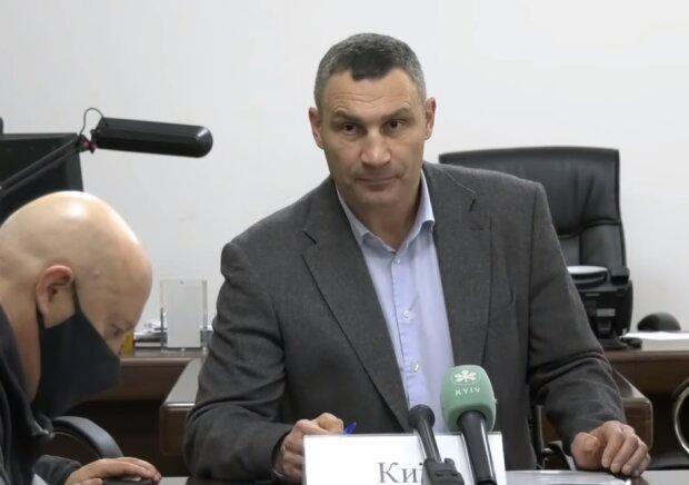 Віталій Кличко, скріншот відео