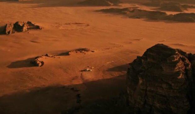 Марс вперше атакувало людське лихо, що загрожує майбутній домівці землян
