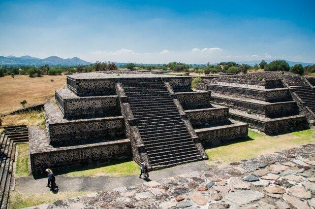 древний город в Мексике