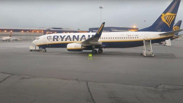 Ryanair, скріншот з відео