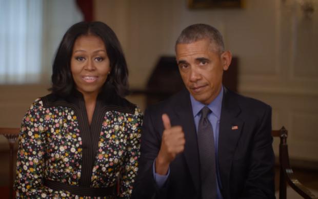 Майже не змінилися: Мішель Обама показала весільне фото 25-річної давності