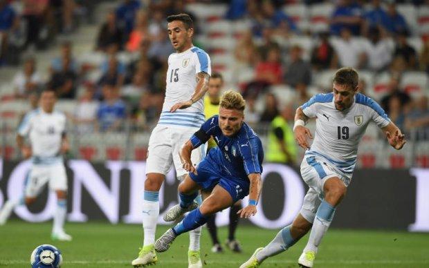 Італія - Уругвай 3:0 Відео голів та огляд матчу