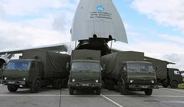 Російські військові літаки приземлилися в Сирії (фото)