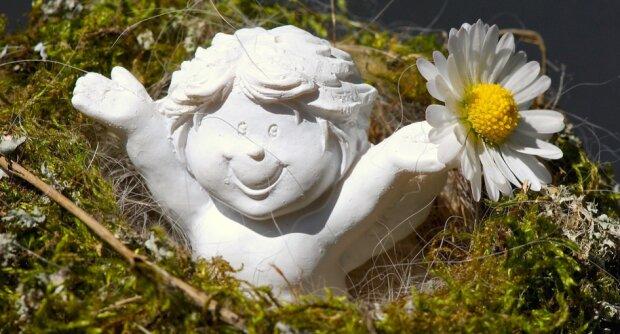 Гіпсовий ангел, фото pixabay