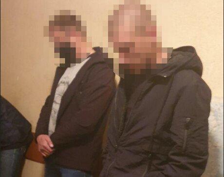 затримані Кузів і Сулима, фото ДБР