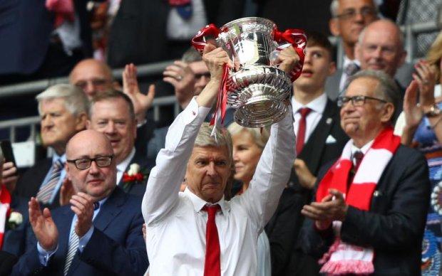 Арсенал і його тренер стали рекордсменами Кубку Англії