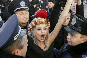 Активістка, фото - ТСН