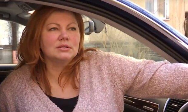 Во Львове женщина сломала ногу, скриншот с видео