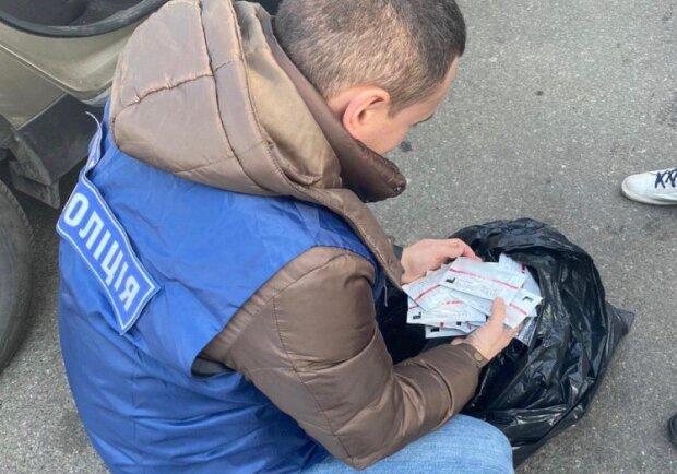 Нічого святого: під Києвом спіймали торговця несертифікованими тестами на COVID-19
