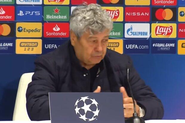Мірча Луческу, скріншот відео