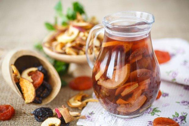 Дуже смачний рецепт компоту із сухофруктів