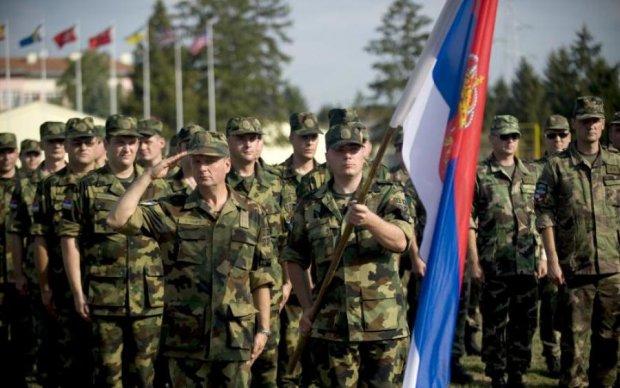 Банду сербских головорезов засекли на Донбассе