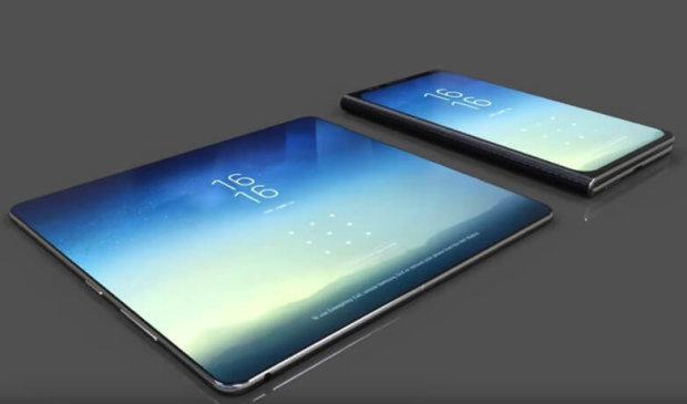 Galaxy X: Samsung показала світу перший гнучкий смартфон