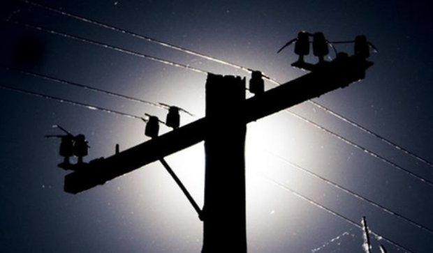 Луганская область осталась без электричества - Тука