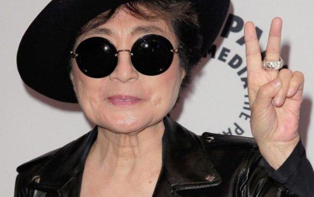 Вдова Леннона урвала кусок его славы