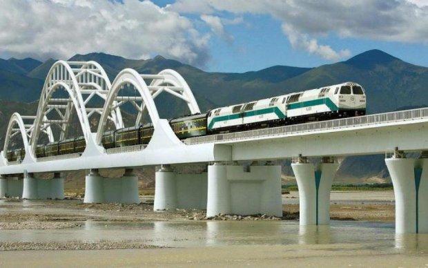 Китай запустив найшвидкіснішу залізницю в світі
