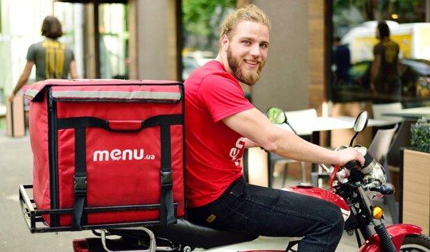 Ваше замовлення вже в дорозі: у Києві запустили популярну службу доставки їжі Menu.ua