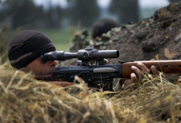 Снайперские группы боевиков расстреливали воинов АТО