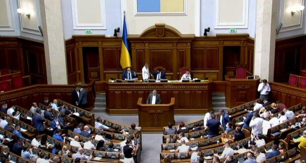 Верховная Рада Украины, скриншот: Youtube
