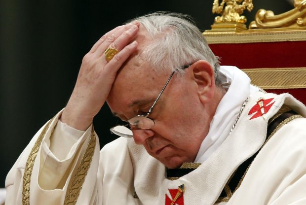 Папа Римський принизив католиків під час меси: відео шокувало світ