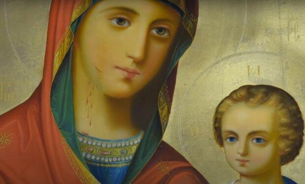 Икона Пресвятой Богородицы, скриншот