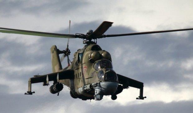 Под Смоленском разбился военный вертолет Ми-24