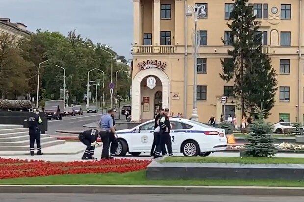 Затримання українців у Білорусі, скріншот з відео
