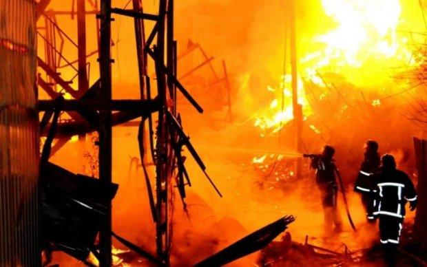 Попытка кражи нефти закончилась взрывом и жертвами