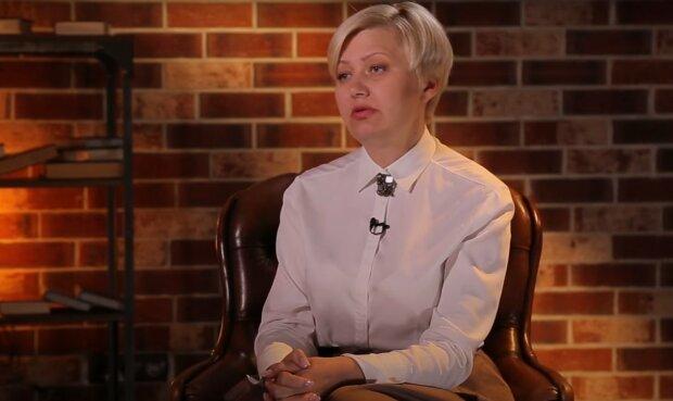 Лариса Ніцой, скріншот з відео