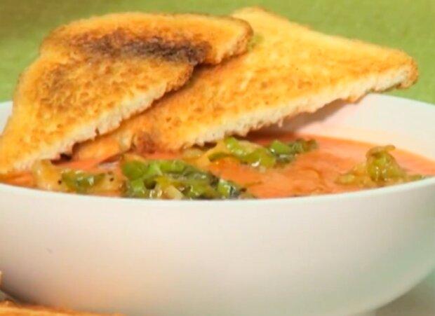 Томатный суп, скриншот: YouTube