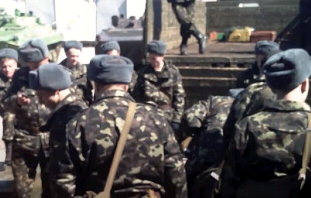 Бійці ЗСУ, кадр з відео