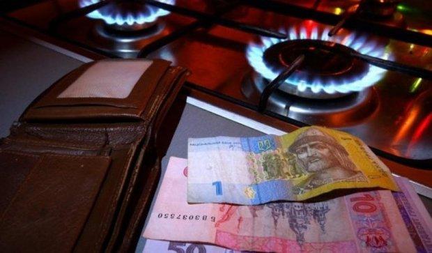 Долги за газ на Киевщине превысили полмиллиарда гривен