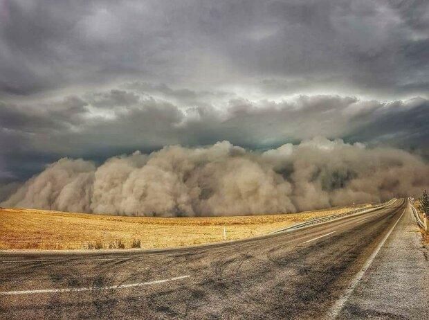 Песчаная буря / фото: соцсети