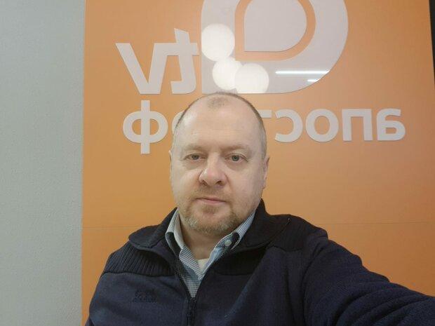 Председатель Союза потребителей коммунальных услуг Олег Попенко-фото с Фейсбук
