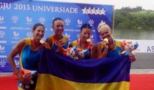 Українки вибороли ще одне золото на Універсіаді